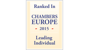 Leading individual - Aviation finance Chambers Europe