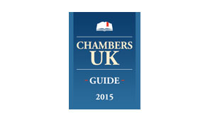 Chambers and Partners UK, Band 1 Individual for Commercial Contracts