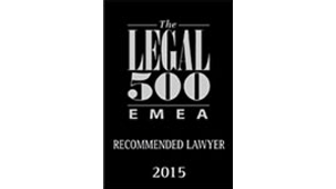 Legal 500 Recommended Lawyer