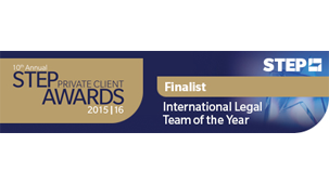 International Legal Team of the Year 2016 - STEPS