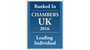 Chambers UK 2016 - Band 2 for employee share schemes and incentives