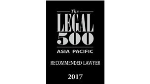 Recommended Lawyer for Corporate and M&A: Foreign firms