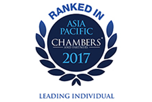 Leading individual, Chambers Asia Pacific 2017