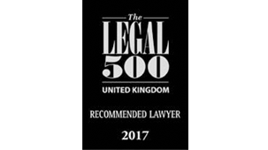 Ranked in The Legal 500 2017, International Arbitration
