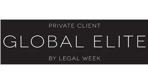 Legal Week's Private Client Global Elite 2017 and 2018