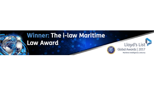 Winner - The i-law Maritime Law Award