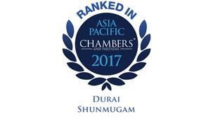 Leading individual for Shipping International Litigation - International Firms - Singapore