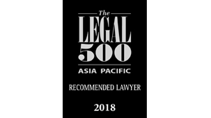 Recommended Lawyer for Corporate and M&A