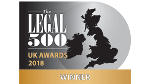 Transport law firm of the year 2018