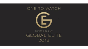 Legal Week's Private Client Global Elite 'Ones to Watch' 2018