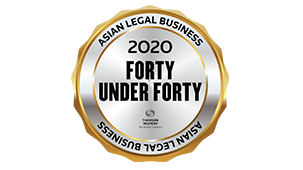 Asian Legal Business 40 under 40 2020