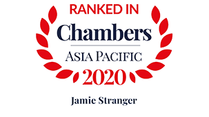Chambers Asia Pacific 2020 (China) –  Dispute Resolution: Litigation  Restructuring/Insolvency