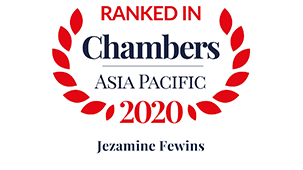 Chambers Asia Pacific 2020 (China) – Employment: Hong Kong Law; Intellectual Property
