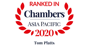 Leading individual for General Business Law: International Firms – Myanmar  Recognised Practitioner for Corporate/M&A: International - Singapore