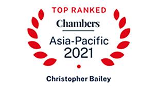 Chambers Asia-Pacific 2021 – Dispute Resolution: International – Band 1