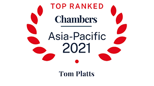 Leading individual for General Business Law: International Firms – Myanmar and Leading individual for Corporate/M&A: International - Singapore