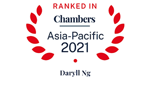 Leading individual for Shipping: Domestic: Litigation – Singapore and Recognised Practitioner for Shipping: Domestic: Litigation – Global-wide