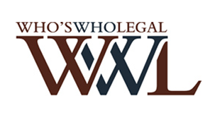Ranked in Who's Who Legal 2018